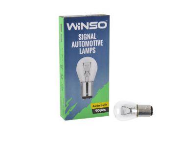 - Лампа розжарювання Winso P21/5W 21/5W 12V BAZ15d 713130 -