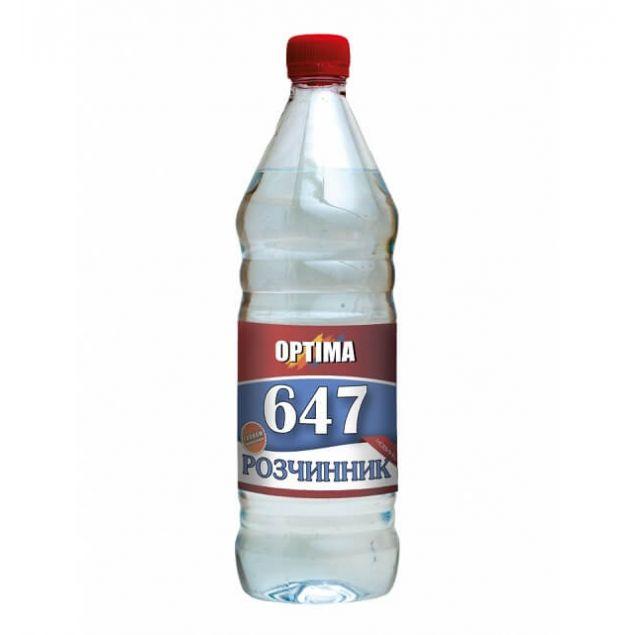 Растворитель 647 без прекурсоров ОPТІМА 0,8л - 1