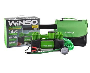 Автокомпрессоры - Автокомпрессор Winso двухпоршневой 125000