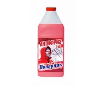 Охлаждающие жидкости в Днепре - Антифриз Полярник -40 красный 1кг
