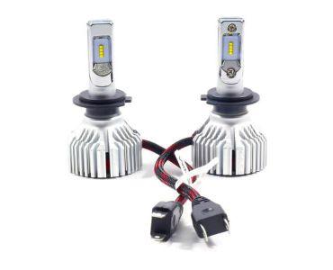 Нейтралізатор запаху домашніх - LED лампа Winso LED H7 12/24V 60W 6500K 8000Lm CSP Philips Lumileds ZES Chip -
