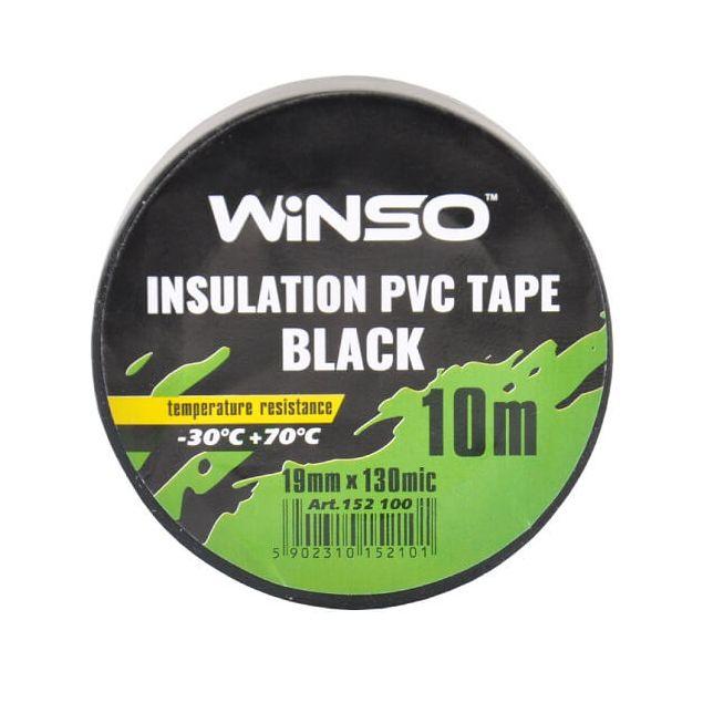 Изолента Winso ПВХ черная 10м / 19 мм - 2