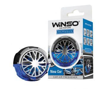 Ароматизатор в машину - Ароматизатор WINSO Merssus на дефлектор New Car 534490