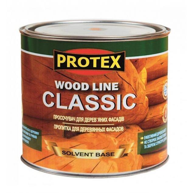 Просочувач для дерев*яних фасадiв WOOD LINE CLASSIK сосна (2,1л) - 1