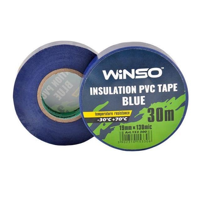Изолента Winso ПВХ синяя 30м/19мм - 1