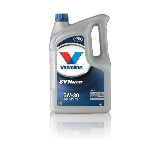 Масло моторное VALVOLINE SYNPOWER XL-III C3 5W-30 5л - 1