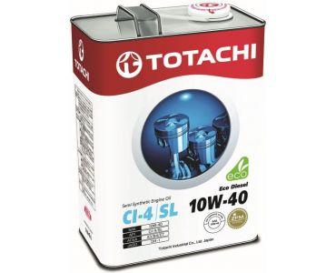 Автомасла - Масло моторное TOTACHI Eco Diesel 10W-40 4л - Автомасла