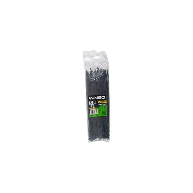 Хомуты пластиковые WINSO 248250 4,8x250 мм Черные - 1