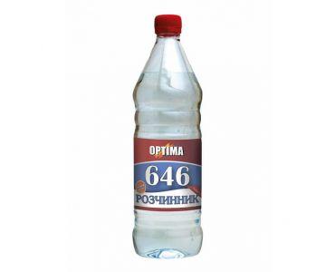 Растворитель для краски - Растворитель 646 без прекурсоров ОPТІМА 0,4л