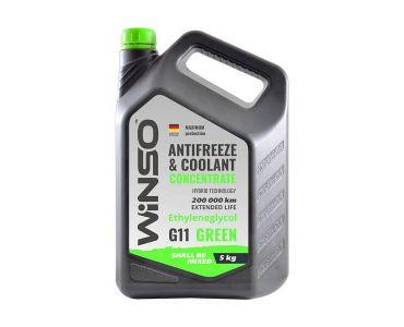 - Антифриз-концентрат Winso G11 5 кг Green -