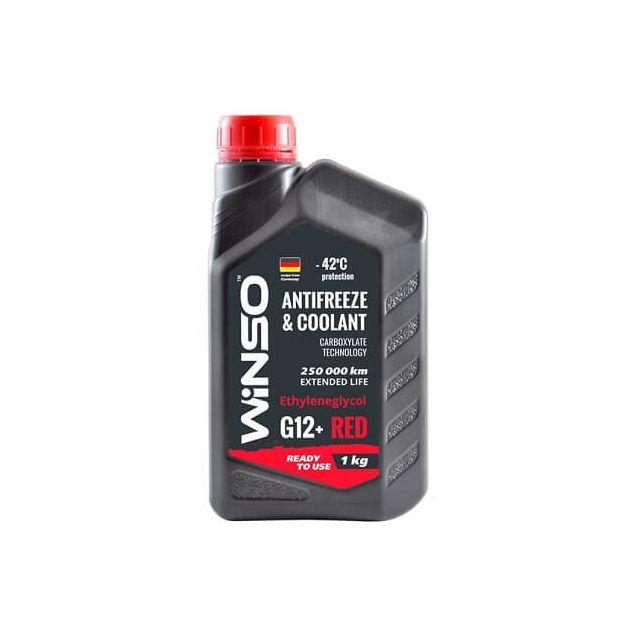 Антифриз Winso G12+ -42 1 кг Красный - 1