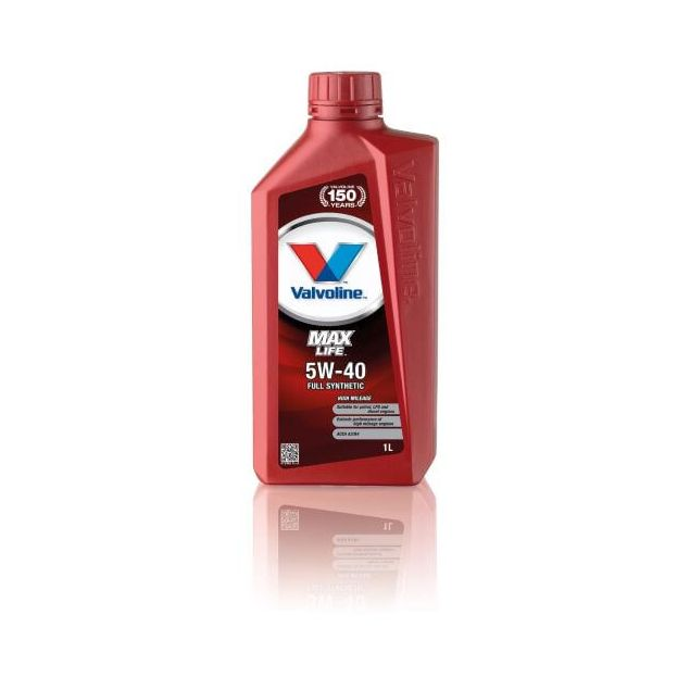 Масло моторное VALVOLINE MAXLIFE 5W-40 1л - 1