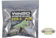 LED лампа Winso C5W 12V SMD5050 SV8.5 T11x39 127450 - 1