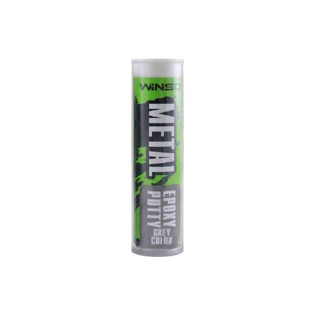 Двокомпонентна епоксидна мастика Winso сіра 57г 300100 - 1