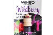 Ароматизатор Winso Fresh WOOD Wildberry 530780 - 1