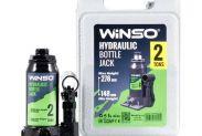 Домкрат гидравлический бутылочный WINSO 170210 2т 148-278мм в кейсе - 1