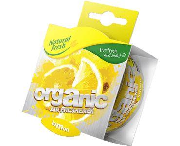 - Ароматизатор Elix Organic Can PURE with Lid Lemon -