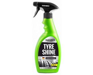 Чернение и уход за шинами - Чернитель бамперов и шин WINSO TYRE SHINE 500мл 810630 - Чернение и уход за шинами